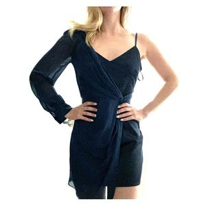 Marciano by guess one shoulder dress